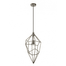 Discovery Geometric Single Light Large Ceiling Pendant