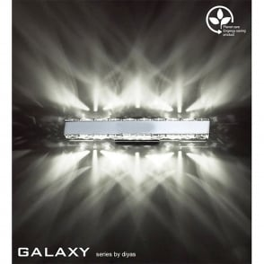 Galaxy 3 Light Daylight White LED Wall Fitting