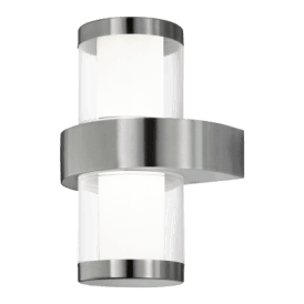 94799 Beverly 1 LED Outdoor Wall Fitting in Stainless Steel Finish