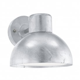 96206 Entrimo Single Light Outdoor Zinc Plated Steel Wall Fitting