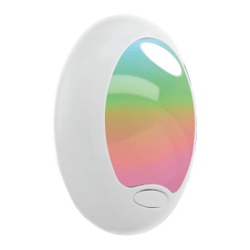 97935 Tineo Night Light In White Finish With Colour Changing LED