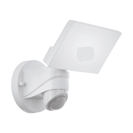 98177 Pagino LED Outdoor Security Light In White Finish With PIR Sensor