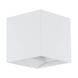 Calpino LED Outdoor Wall Fitting In White Finish