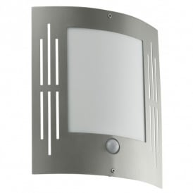 City Stainless Steel Outdoor Wall Fitting With PIR