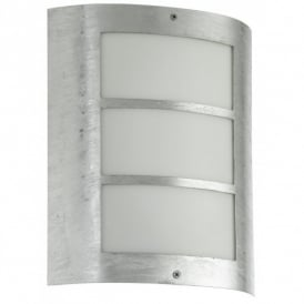 City Zinc Plated Low Energy Outdoor Wall Light