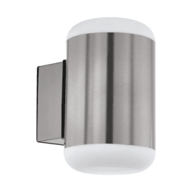 Merlito Single Light Outdoor Wall Fitting in Stainless Steel Finish