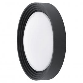 Ontaneda LED Outdoor Wall Fitting In Black Finish