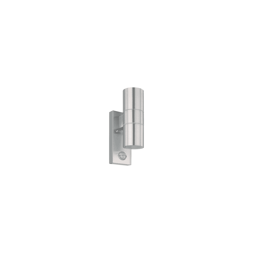 Pir Led Riga Steel Light Stainless With Outdoor 2 Fitting 5 In Wall Finish Sensor kZXOiPu