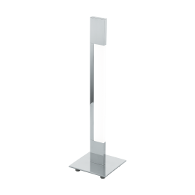 Tarandell Single Light LED Touch Table Lamp In Polished Chrome Finish
