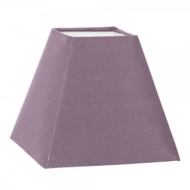 1 + 1 Vintage Tapered Square Shade In Taupe Fabric Finish