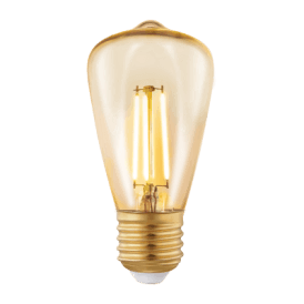 11553 3.5w LED Amber Vintage Warm White ES/E27 Squirrel Cage Style Bulb