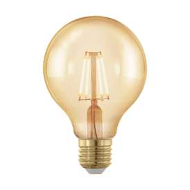 11692 4w Dimmable LED Small Golden Vintage Warm White ES/E27 Globe Style Bulb