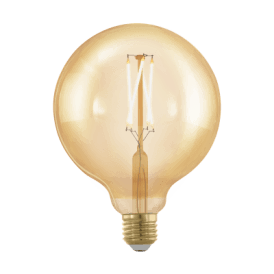 11694 4w Dimmable LED Large Golden Vintage Warm White ES/E27 Globe Style Bulb
