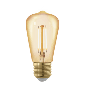 11695 4w Dimmable LED Small Golden Vintage Warm White ES/E27 Squirrel Cage Style Bulb