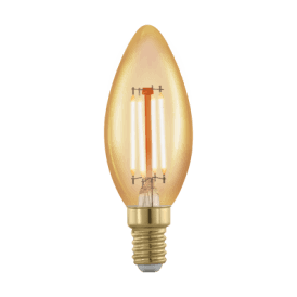11698 4w Dimmable LED Vintage Golden Warm White SES/E14 Classic Candle Style Bulb