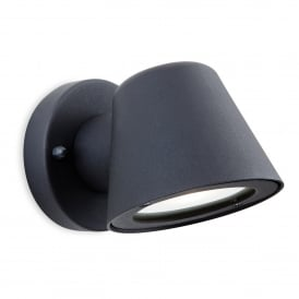 Elan LED Single Light Wall Fitting In Black Finish