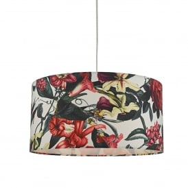 Elana Easy Fit Pendant Shade in Botanical Print