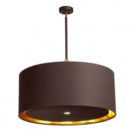 Balance 4 Light Extra Large Ceiling Pendant in Mocha Brown Finish
