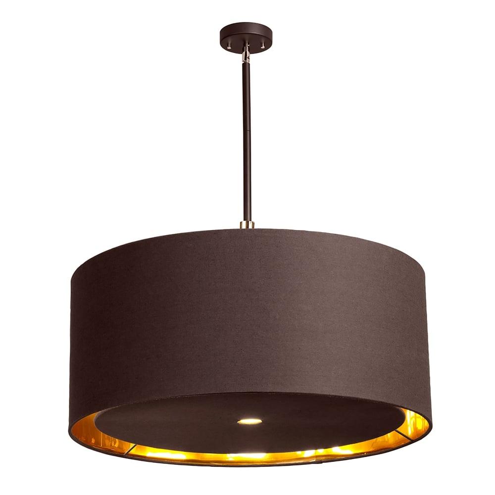 low priced 9c382 cd38b Elstead Lighting BALANCE/P XL BRPB Balance 4 Light Extra Large Ceiling  Pendant in Mocha Brown Finish