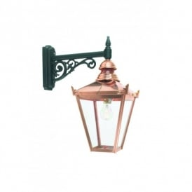 CS2 Norlys Chelsea Single Light Wall Fitting in Copper Finish