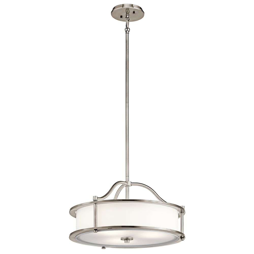Elstead Lighting Emory 3 Light Ceiling Pendant In Classic