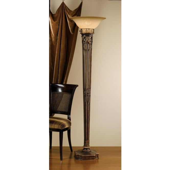 torchiere table lamp. Feiss Opera Single Light Torchiere Floor Lamp With Speckled Scavo Glass Table L