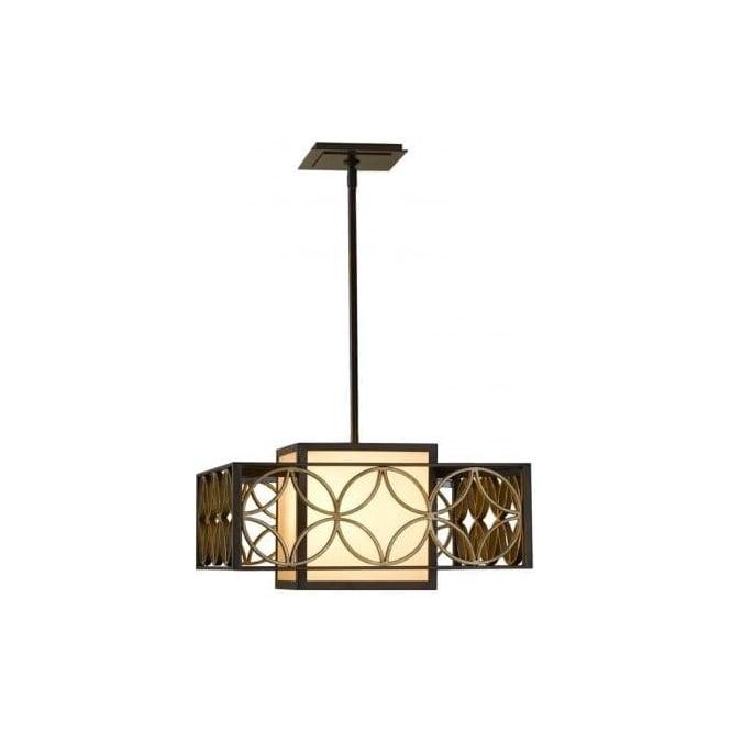 Elstead Lighting Feiss Remy Single Light Square Chandelier in – Single Light Chandelier