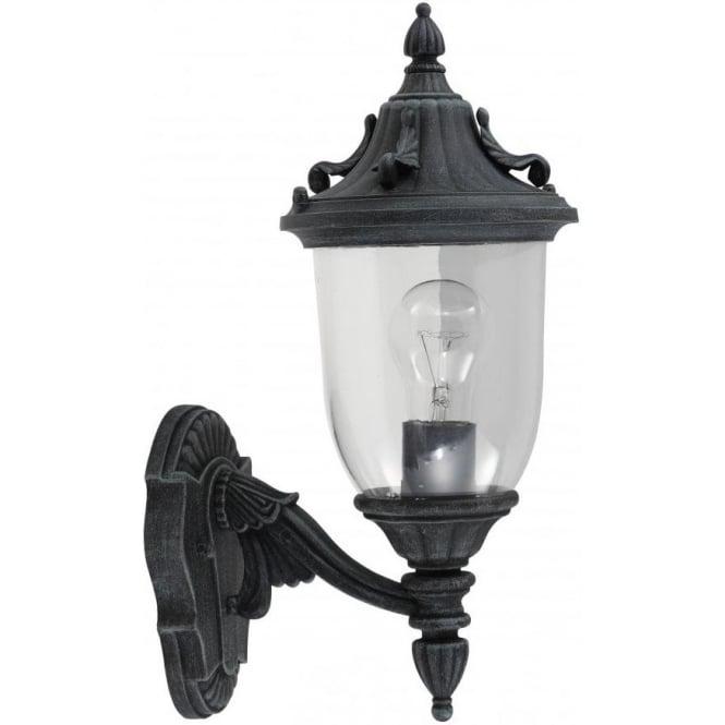 Lantern Type Wall Lights : Elstead Lighting Garden Zone Elkstone Single Light Outdoor Wall Lantern in a Verdigris Finish ...