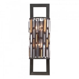 Hinkley Gemma 2 Light Wall Fitting In Vintage Bronze Finish