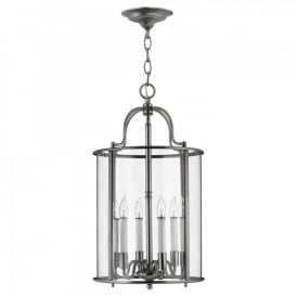HK/GENTRY/P/L PW Hinkley Gentry 6 Light Ceiling Pewter Finish