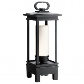 KL/SHOPE BT/A OZ South Hope LED Portable Table Top Lantern In Olde Bronze Finish With Integrated Bluetooth Speaker