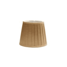 LS160 Eleanor Camel Silk Effect Fabric Shade