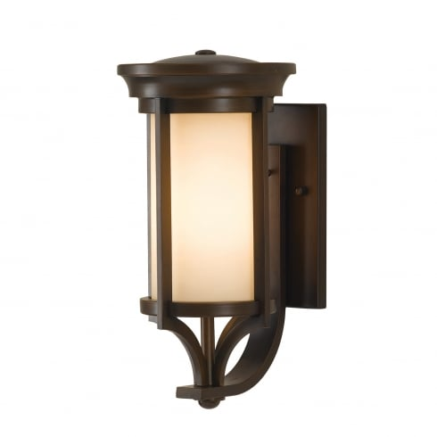 Lantern Type Wall Lights : Elstead Lighting Merrill Single Light Small Wall Lantern in Heritage Bronze Finish (Outdoor ...