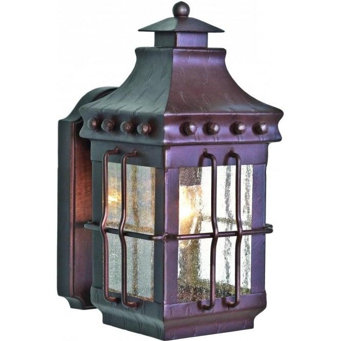 Merrow wrought iron outdoor lantern