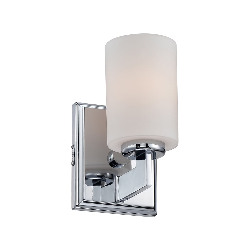 Small Chrome Wall Lights : Elstead Lighting Taylor Single LED Small Wall Fitting in Polished Chrome Finish with Opal Etched ...