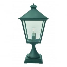 Turin Outdoor Post Light in Black Finish