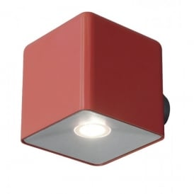UT/PIXEL RED Lutec Pixel Single Light LED Wall Fixture in Red