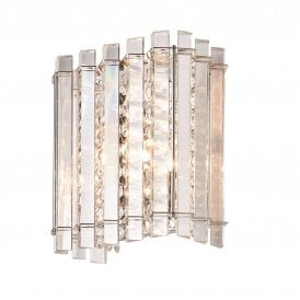 Hanna Single Light Crystal Wall Fitting