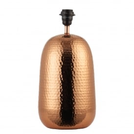 Arbutus Single Light Table Lamp Base Only in Copper Finish