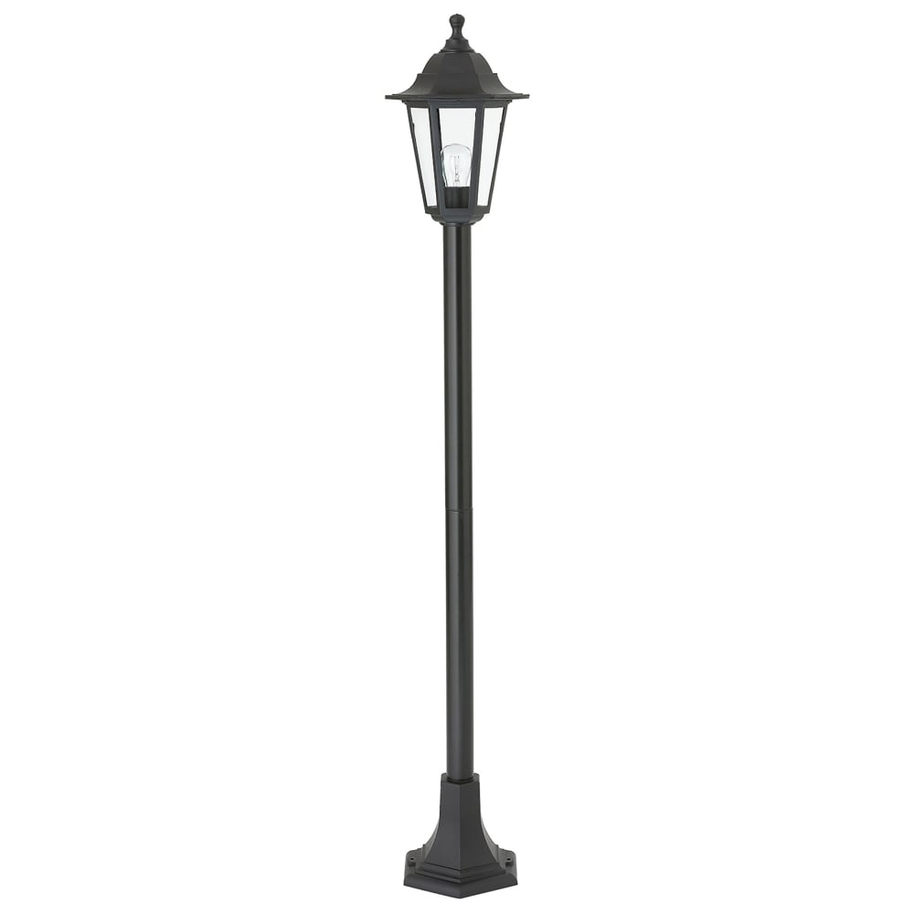 Outdoor Post Light Replacement Glass: Endon Lighting Bayswater Single Light Outdoor Lamp Post