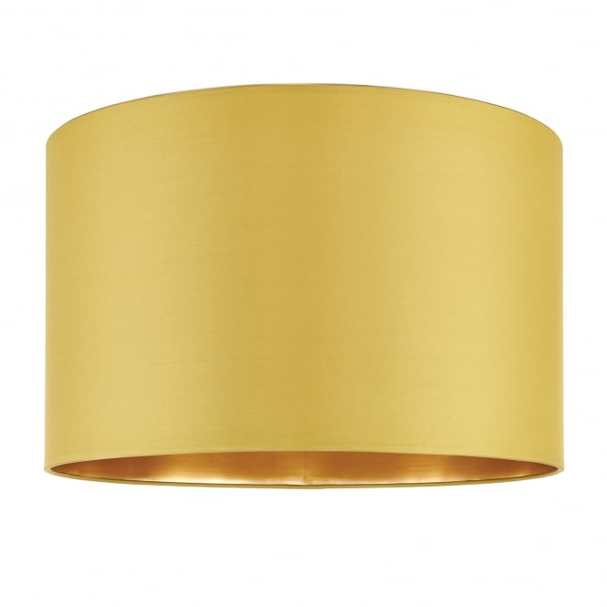 Endon Lighting Boutique 16 Inch Chartreuse Silk Shade With A Brushed Gold Effect Inner