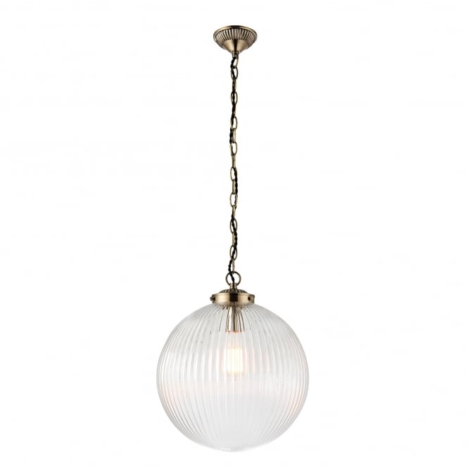 Endon Lighting Brydon Single Light Large Ceiling Pendant