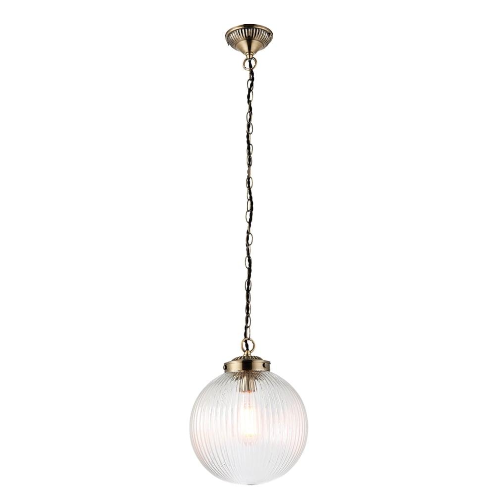 Endon Lighting Brydon Single Light Medium Ceiling Pendant