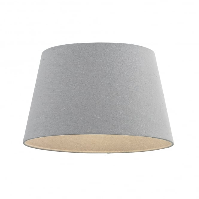 Endon Lighting Cici Ceiling Light 8 Inch Linen Shade In Grey Finish