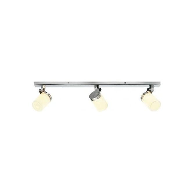 Endon Bathroom Ceiling Lights endon lighting cosmo 3 light bathroom ceiling bar spot light