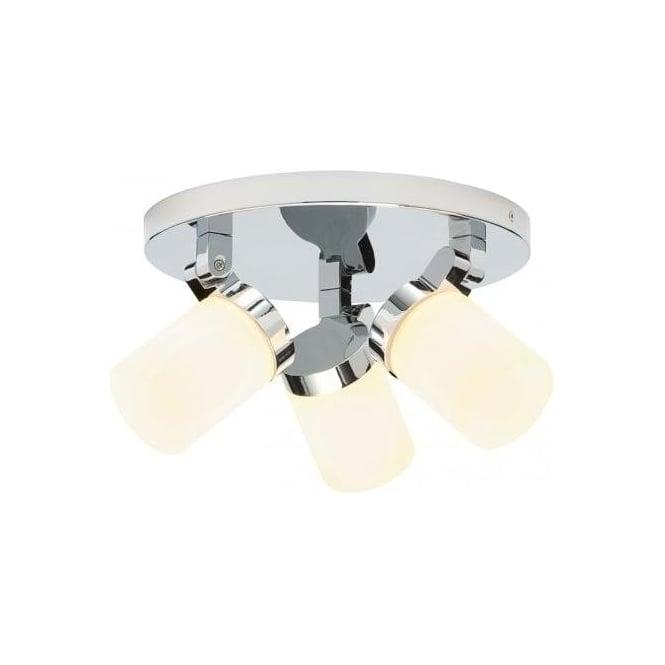 Endon Lighting Cosmo 3 Light Bathroom Ceiling Spot Light ...