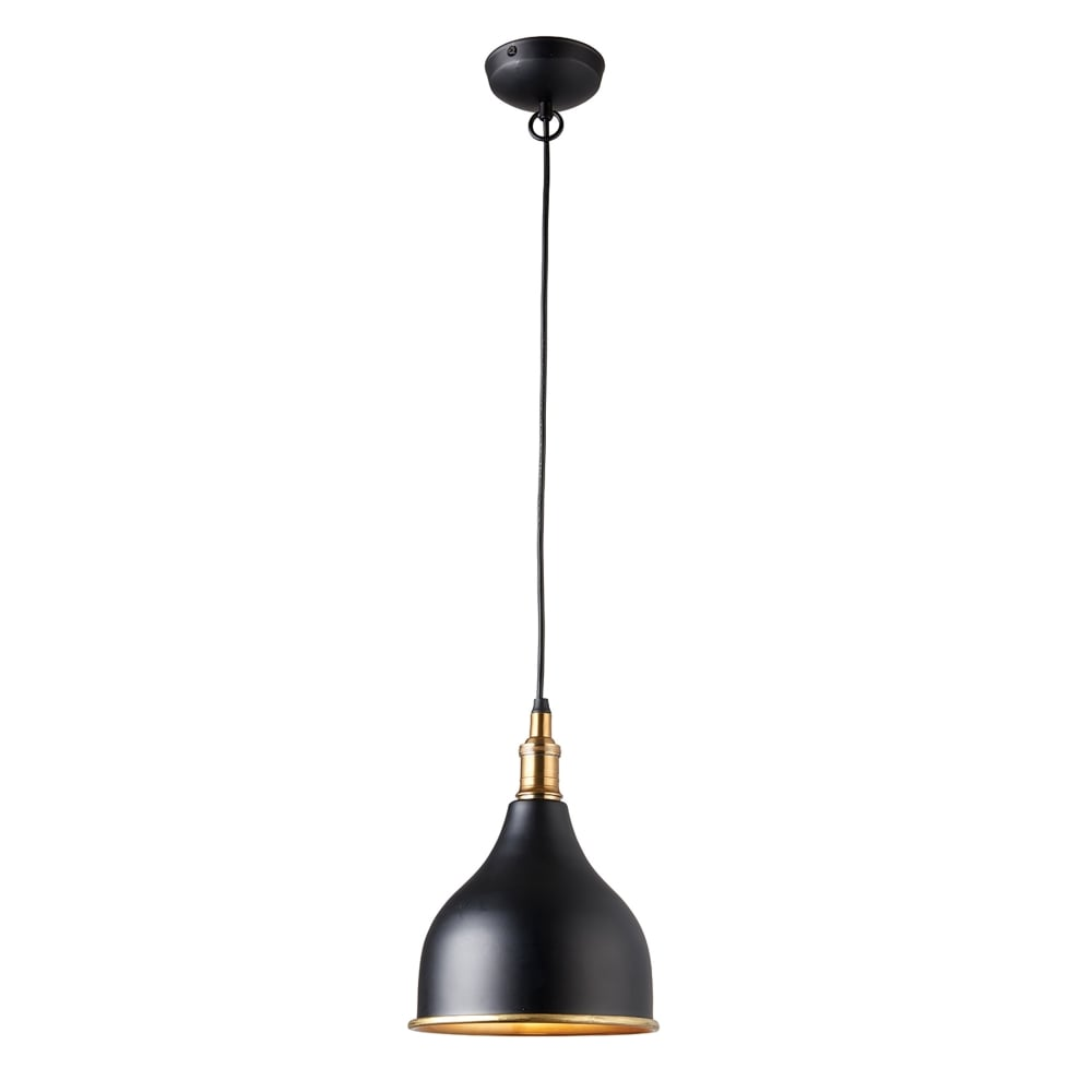 Endon Lighting Dickens Single Light Ceiling Pendant In