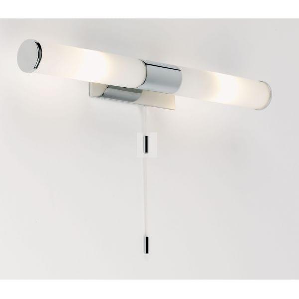 Halogen Ceiling Lights For Bathrooms: Endon Lighting Enluce 2 Light Halogen Bathroom Wall
