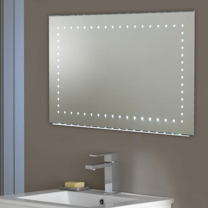 Endon lighting kalamos led illuminated bathroom wall mirror with kalamos led illuminated bathroom wall mirror with demister pad amp sensor switch aloadofball Image collections