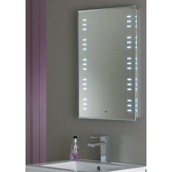 Bathroom Lights Endon endon lighting kastos led bathroom illuminated mirror with